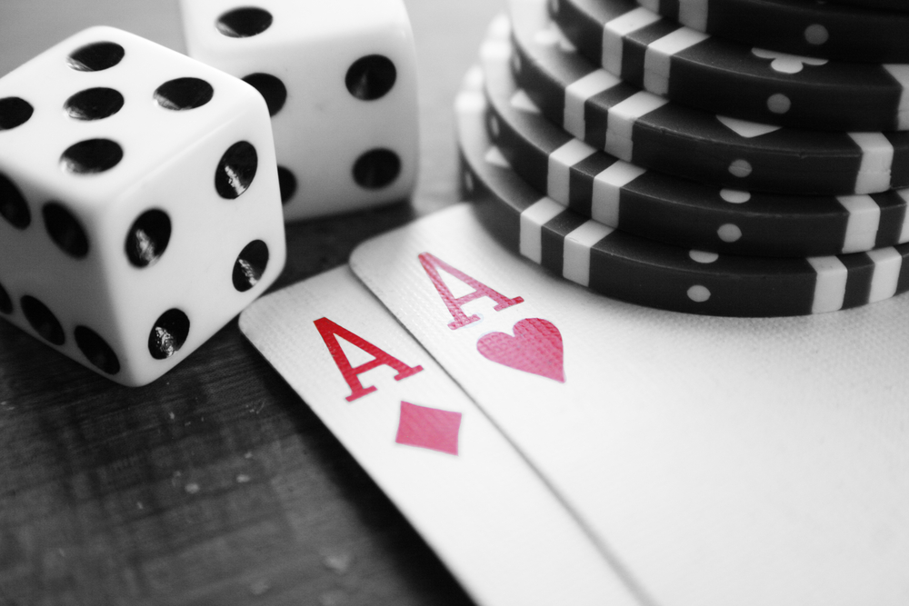 casino dices and cards