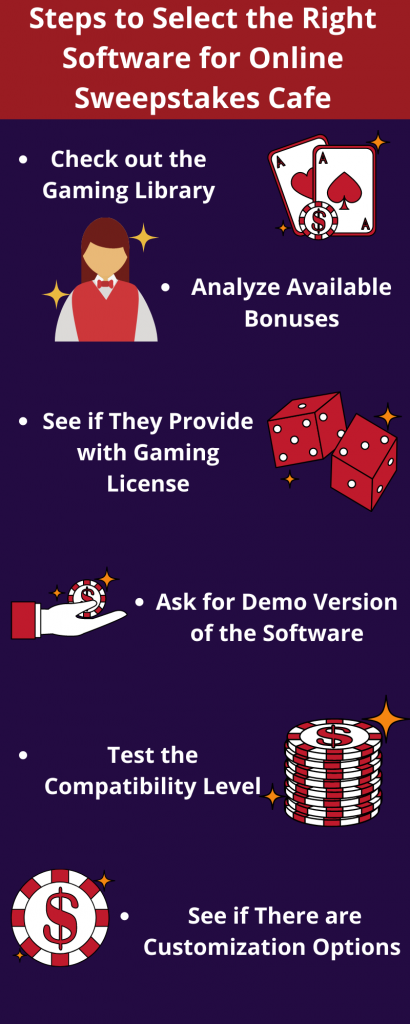 sweepstakes software providers